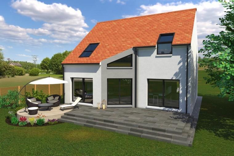 Ma maison en yvelines constructeur de maisons for Constructeur maison moderne yvelines